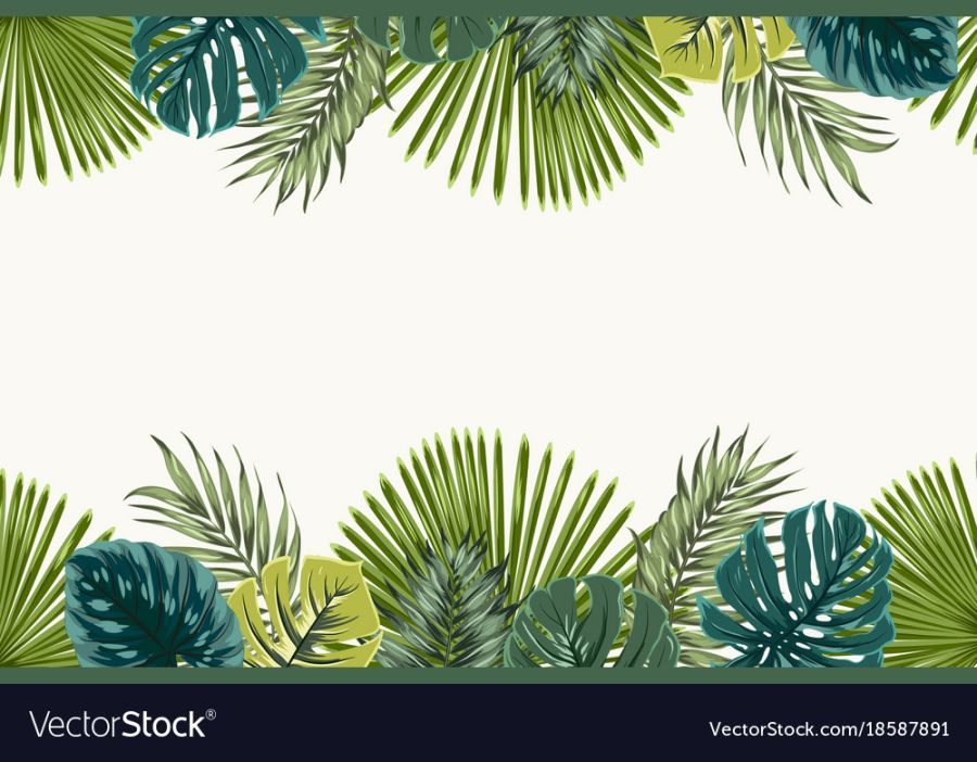 Leafs jungle theme Printed Sugar or Icing Sheet