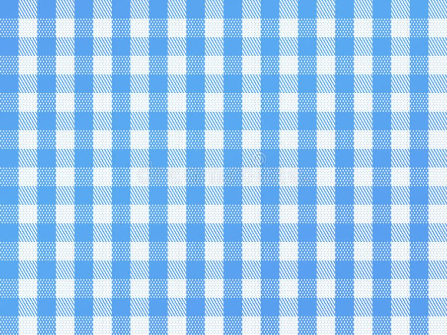 checkered-bavarian-blue Printed wafer or Icing Sheet
