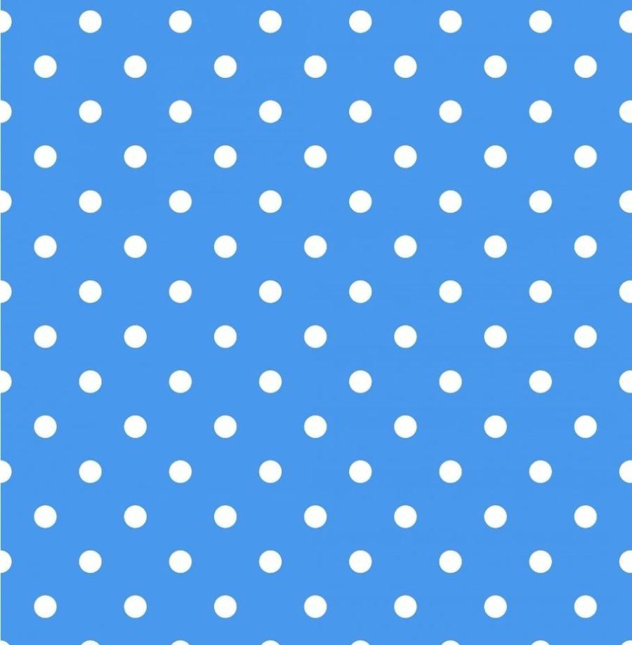 Polka dot Blue Printed wafer or Icing Sheet