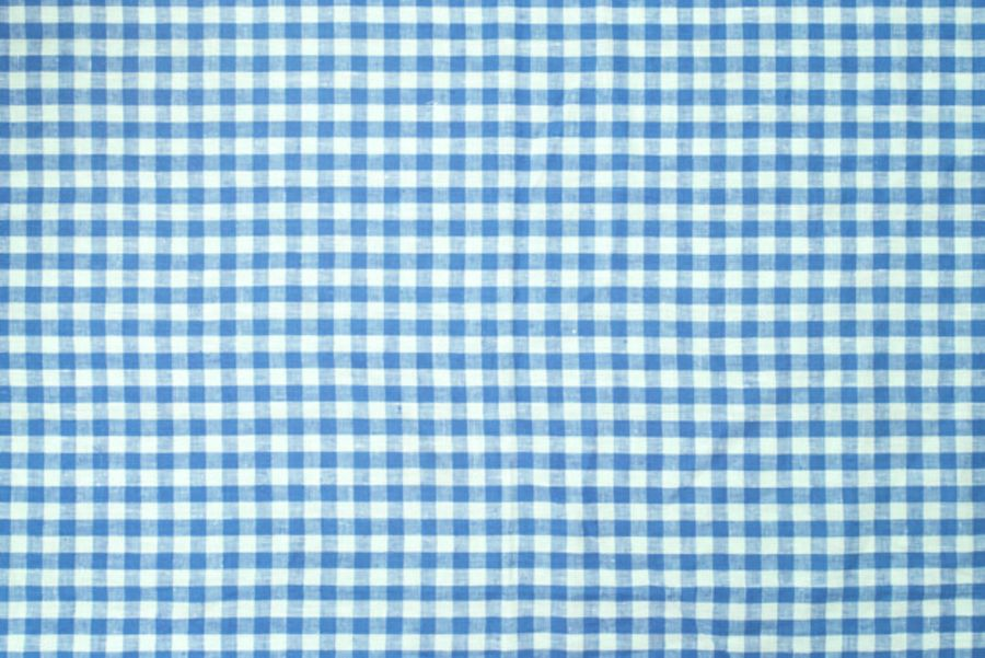 small blue-checkered blue Printed wafer or Icing Sheet