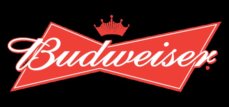 Budweiser logo and symbol Cake topper icing or wafer sheet