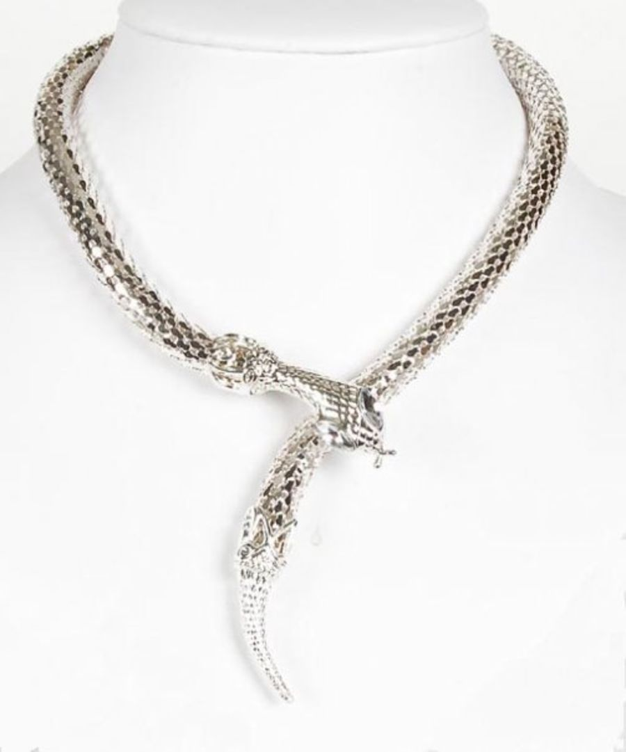Snake Choker with Crystal Eyes