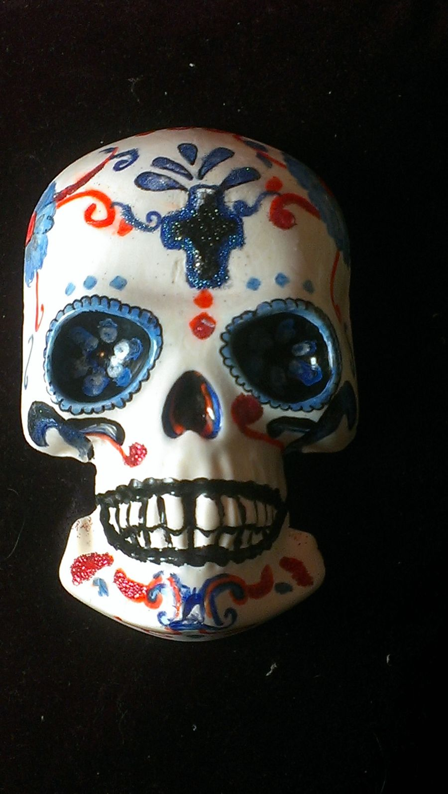 3 Day Of The Dead Sugar Skull Wall Plaques to chose from