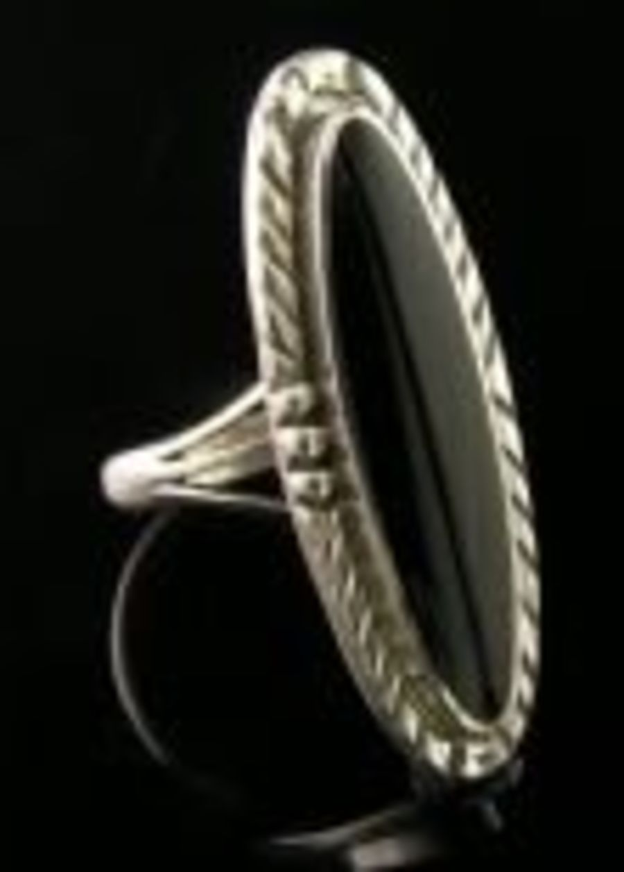Sterling Silver Ring Size L
