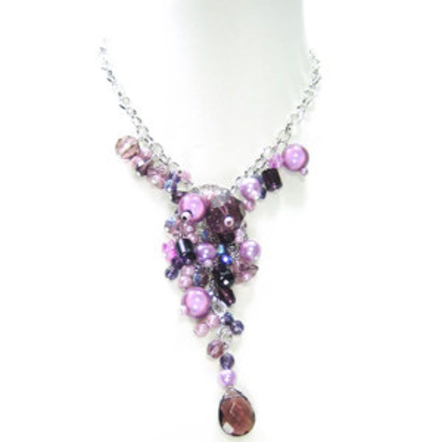 Purple and Lilac Pendant