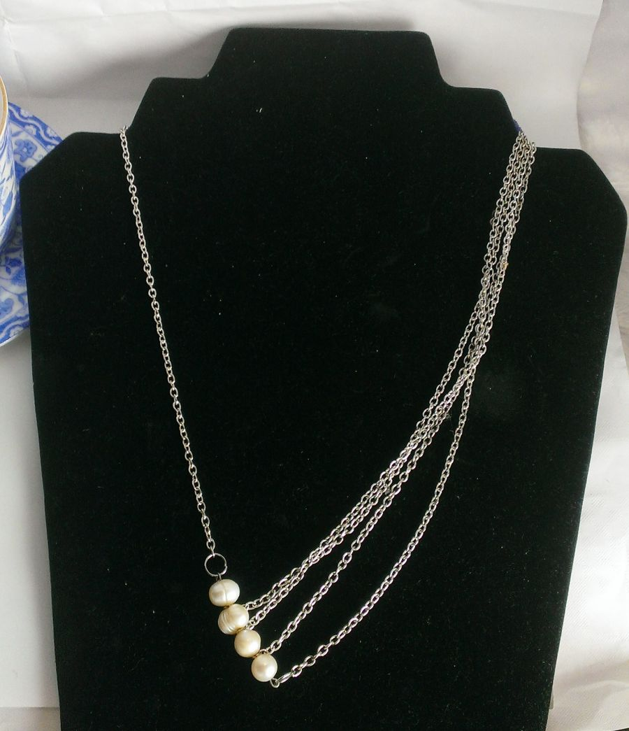 Original one off design Freshwater Pearl Necklace