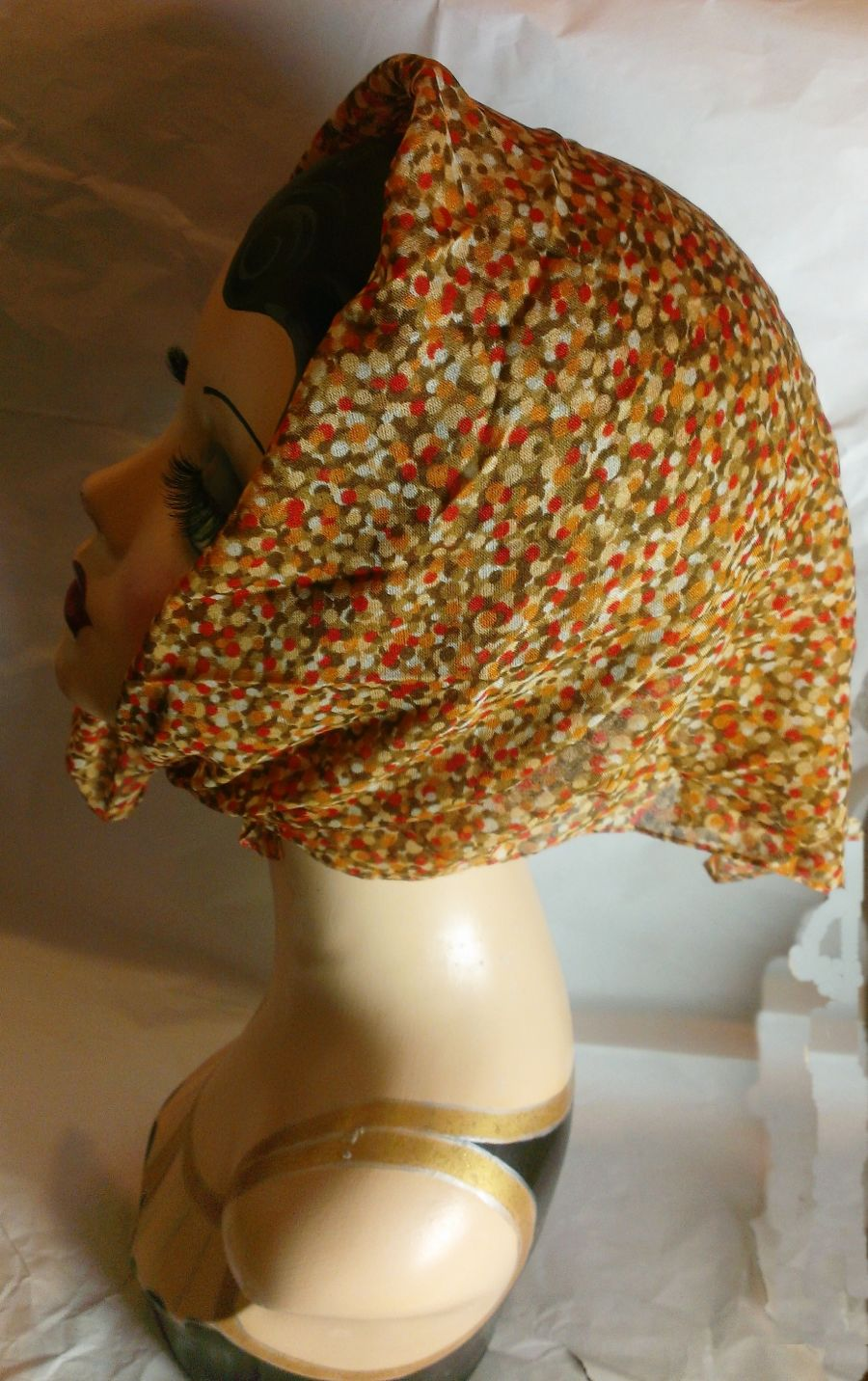 Scarf Head Or Neck Autumn Colours