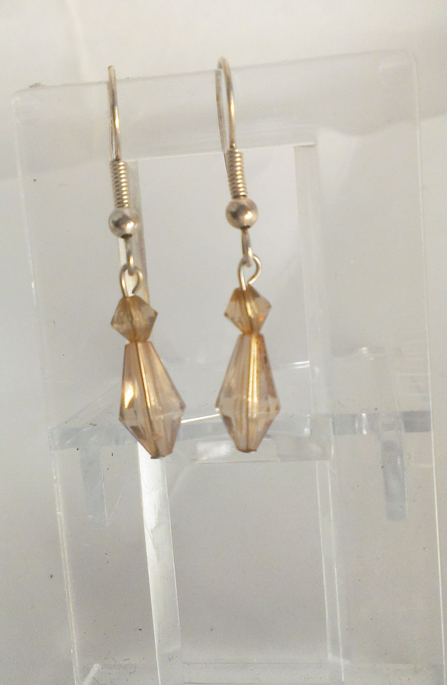 Cafe O Late Colour Faceted Drop Earrings