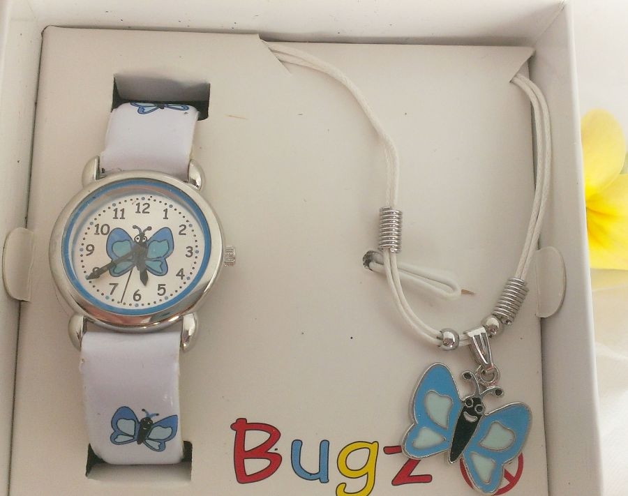 Kids watch and Pendant Set Boxed