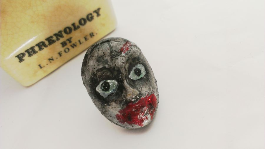 Zombie Barbie Face Ring Adustable