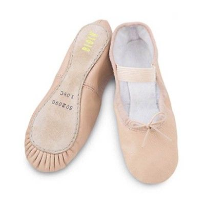 Bloch SO209 Arise Leather Full sole Ballet Shoe Pink
