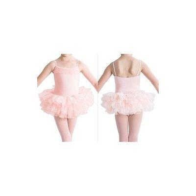 Bloch Desdemona CL7120 Girls Ballet Dance Tutu Leotard