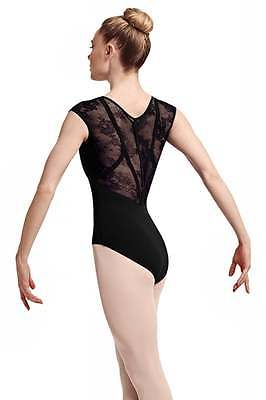 Bloch L7714 Hava lace cap sleeve leotard for Dance