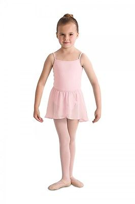 Bloch CR5110 Mock Wrap Skirt in pink