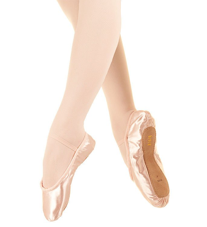 Bloch SO232 Debut pink satin ballet shoes