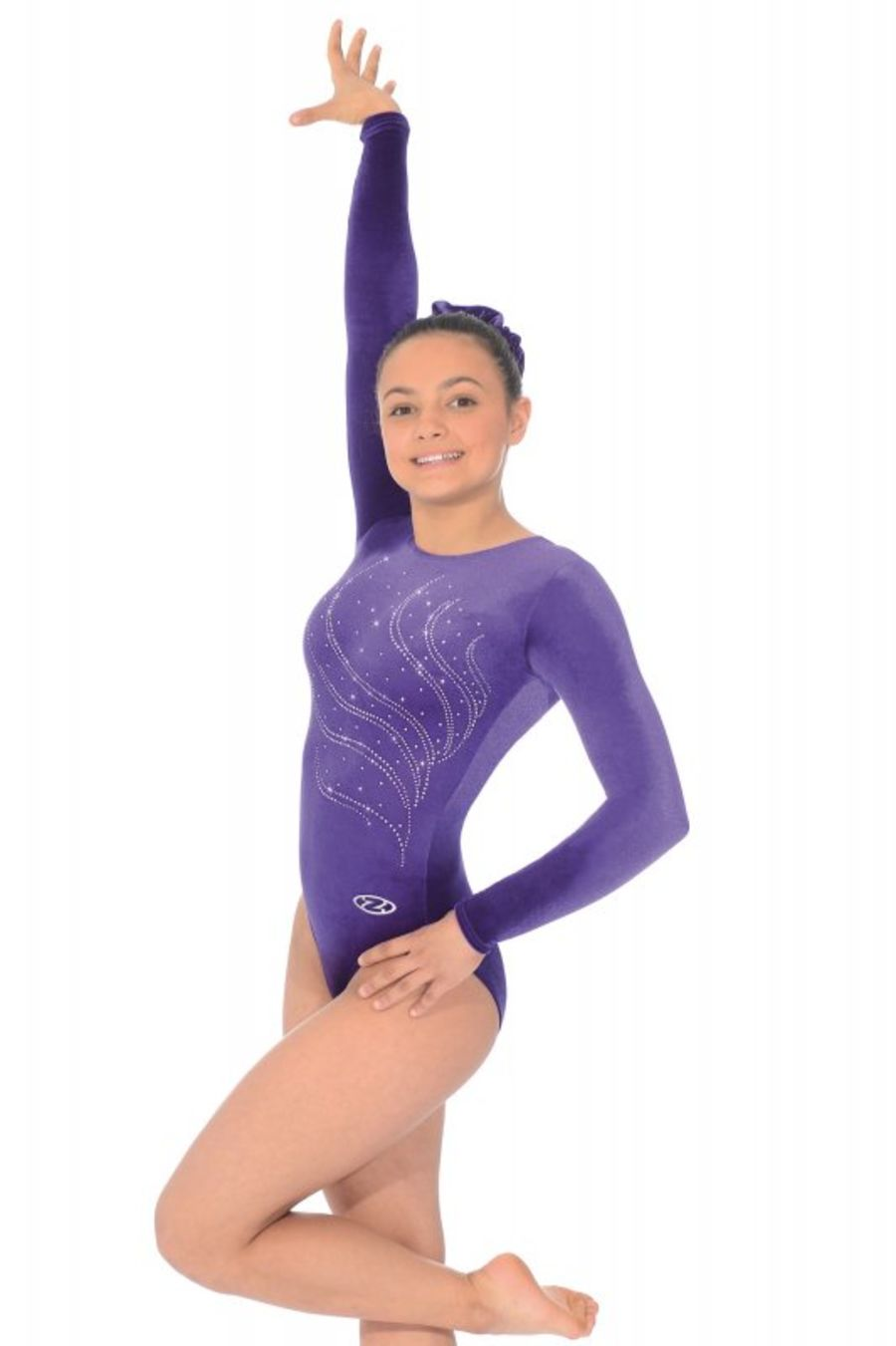 Roch Valley -  Zone Tiara Velour Gymnastic Leotard