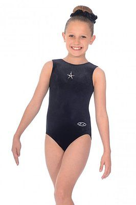 Roch Valley -  Zone Sparkle Velour Gymnastic Leotard