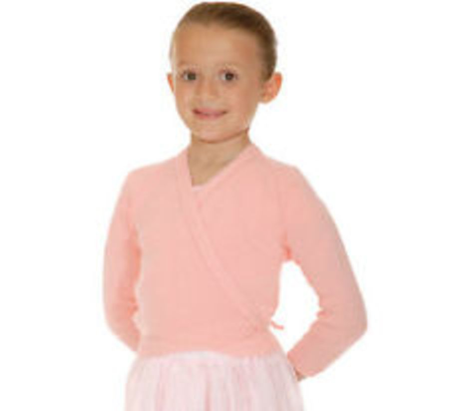 Roch Valley Ballet Dance Wrap Cardigan acrylic Pink