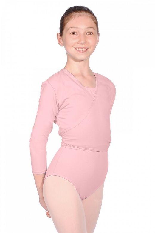 Roch Valley Nikki Tie cross - over cotton ballet / dance cardigan 4 colourways