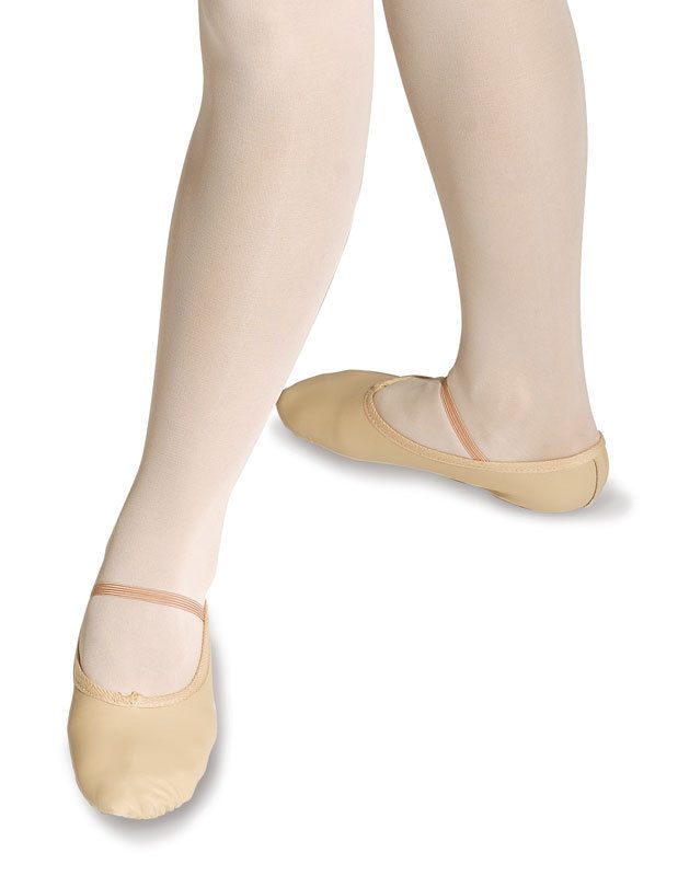 Roch Valley Ophelia pink leather ballet dance shoes