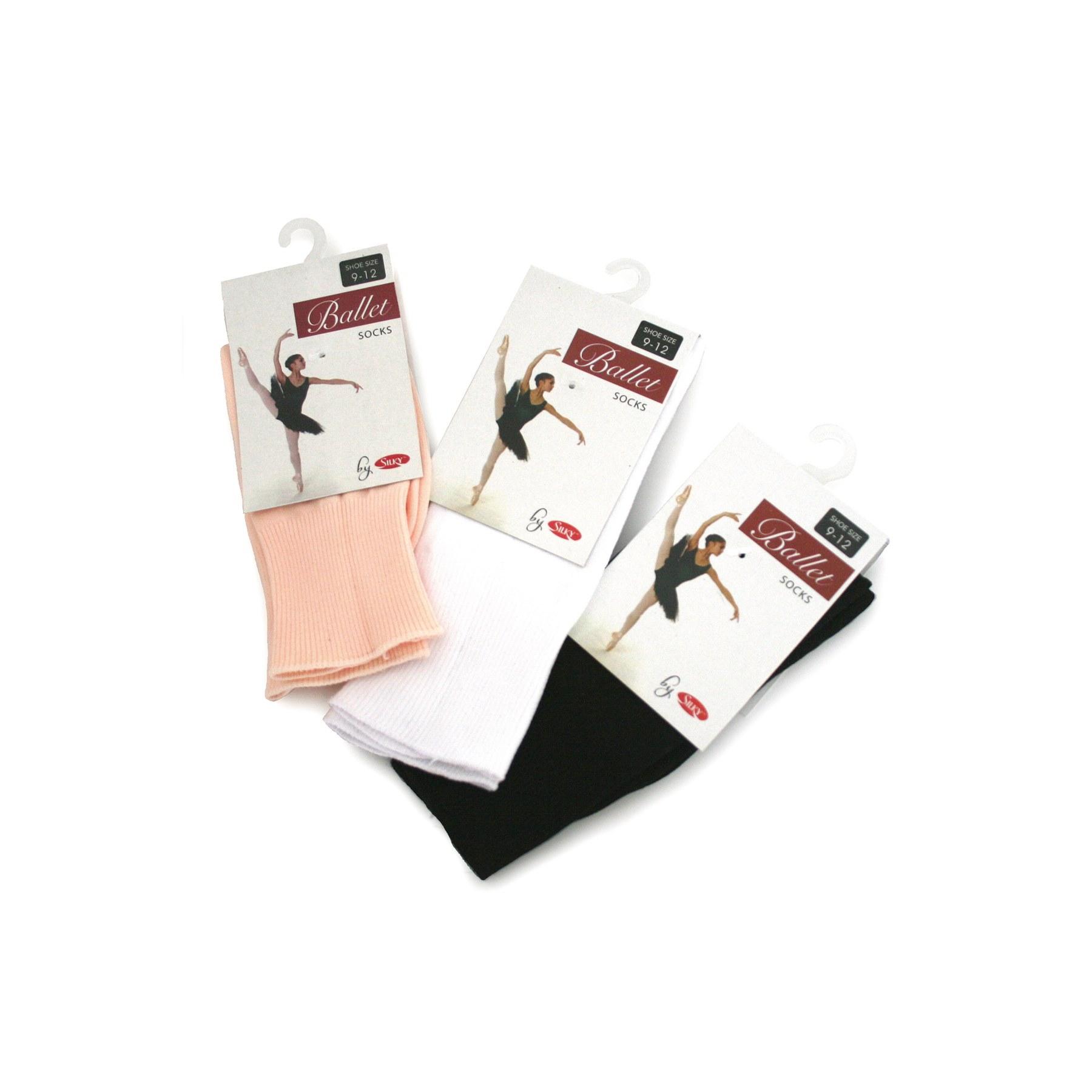 Silky Ballet Dance Socks
