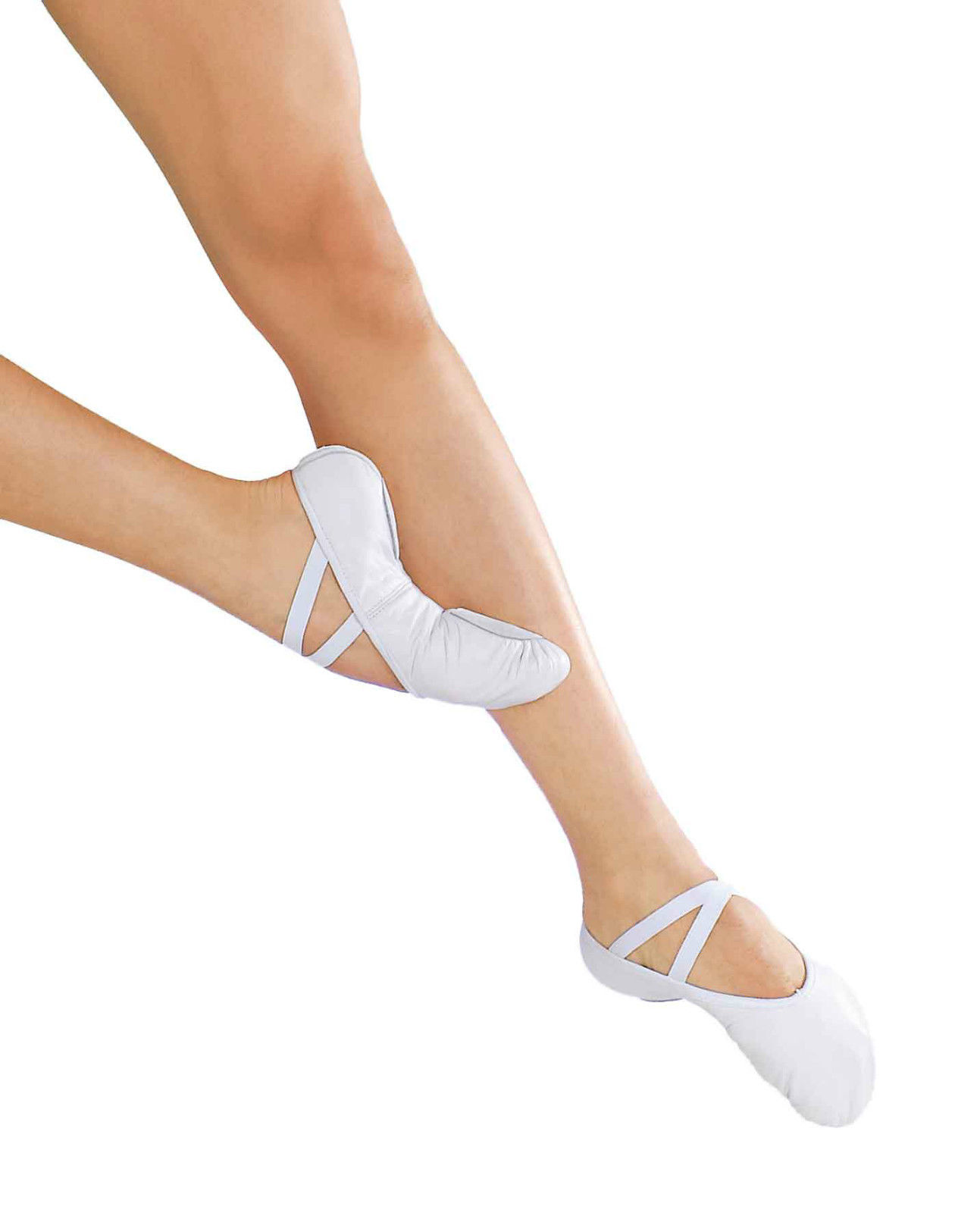 So Danca BAE13 Canvas split sole ballet dance shoes (available in ,white  SALE