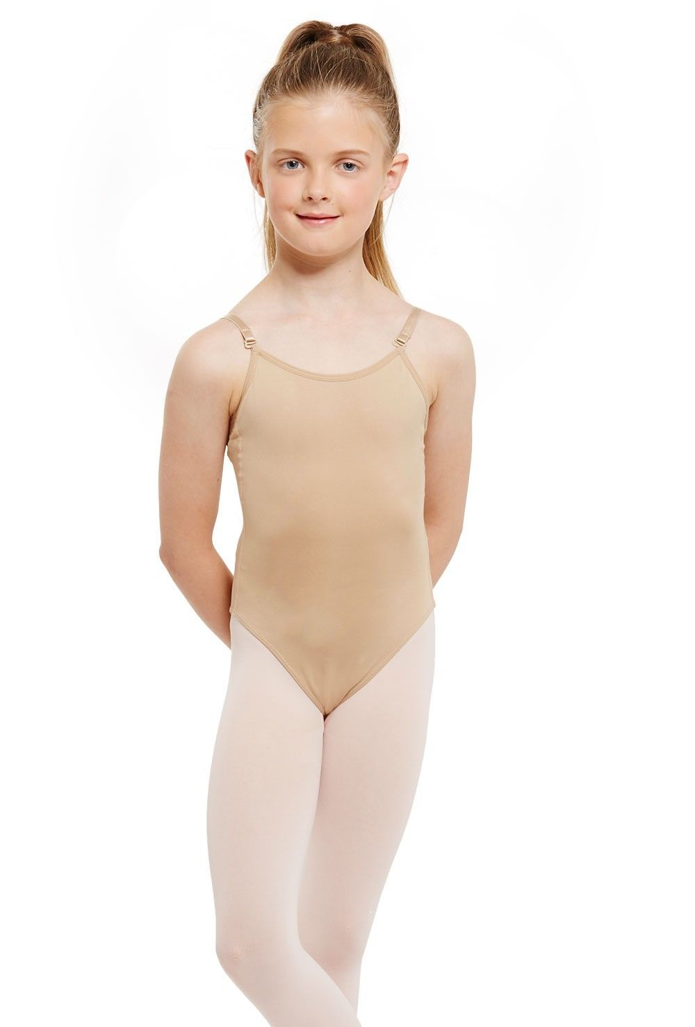 Silky Seamless Low Back Camisole in Childrens & Adult sizes