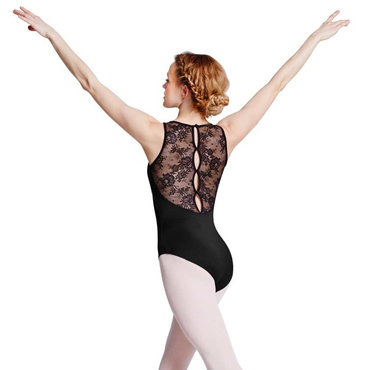 Bloch L8845  Fresia lace sleeveless leotard for Dance.