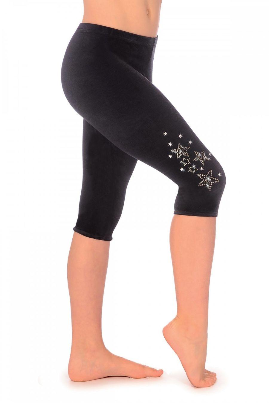 The Zone Dazzle Capri Smooth Velour leggings