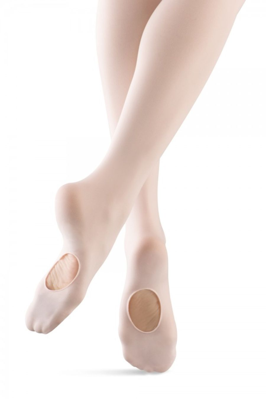 Bloch TO982 Contour Soft Convertible ballet/dance tights, Pink, Black  & Bloch Tan