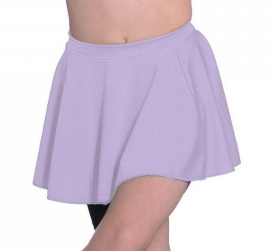 Lycra Circular Skirt in Lilac by Roch Valley