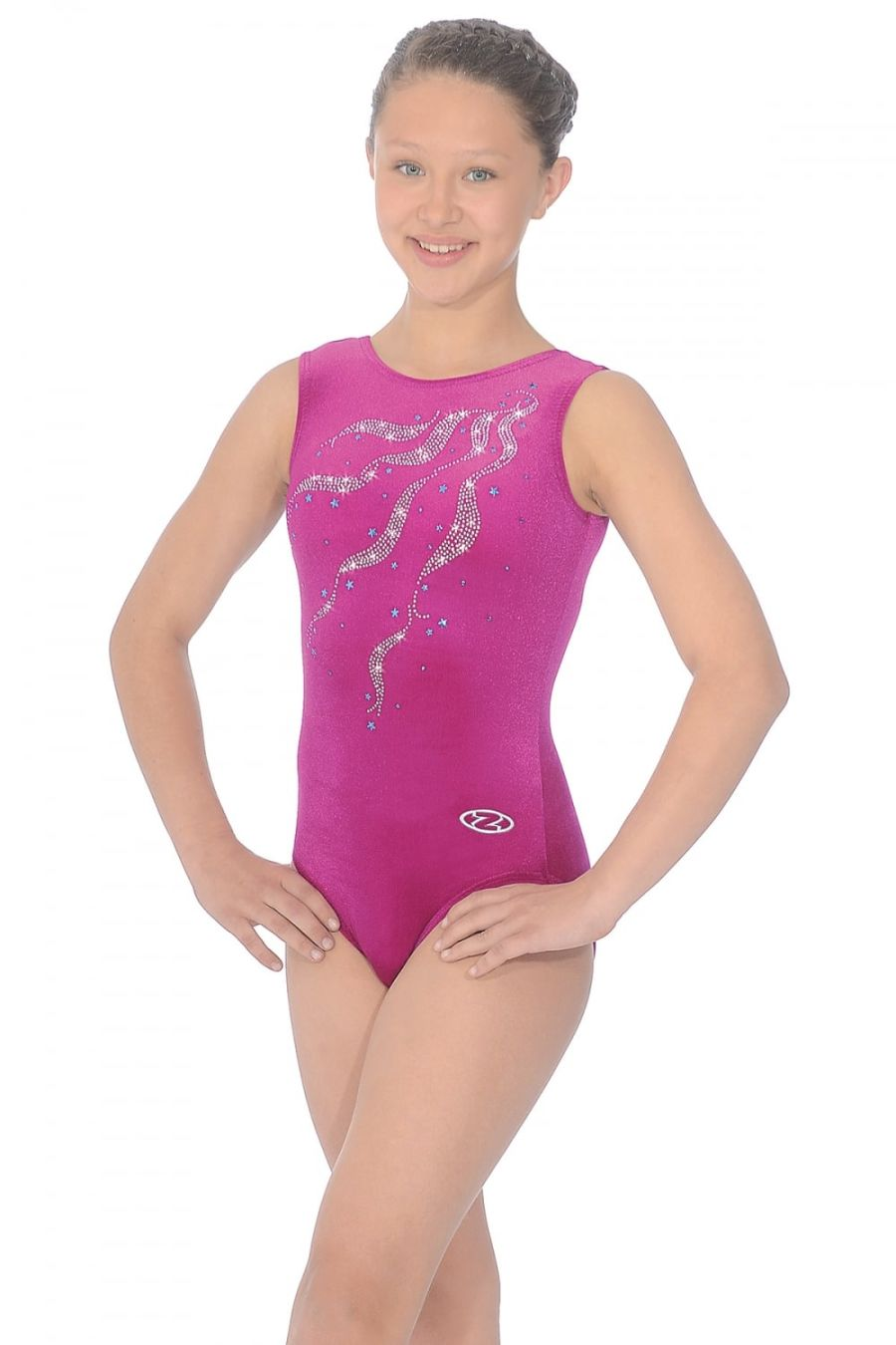 The Zone by Roch Valley Z103 Ribbons Gymnastic Leotard