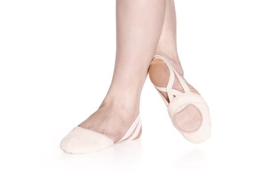 So Danca BA41 Half Sole Contemporary Shoe Nude