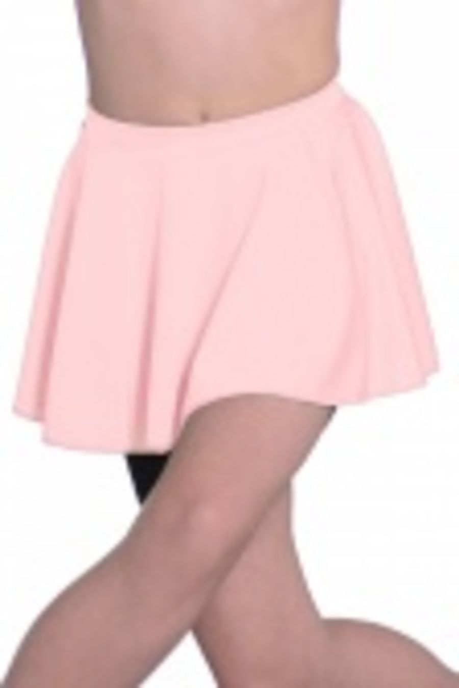 Lycra Circular Skirt in Pink by Roch Valley