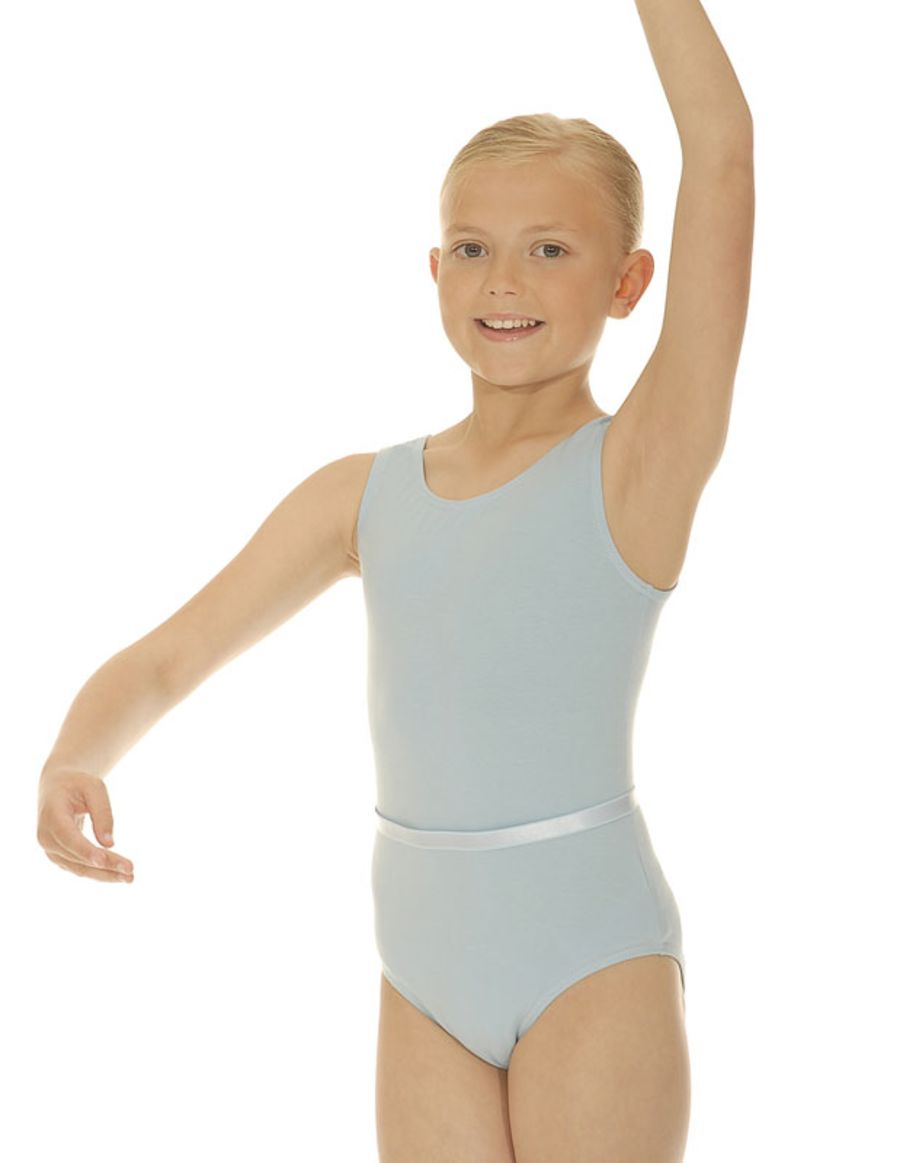Roch Valley CJune Pale Blue Cotton/Lycra Leotard