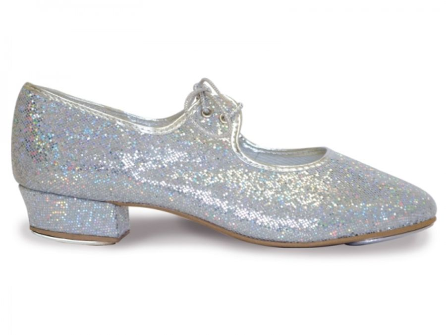Roch Valley Hologram Silver Tap Shoes