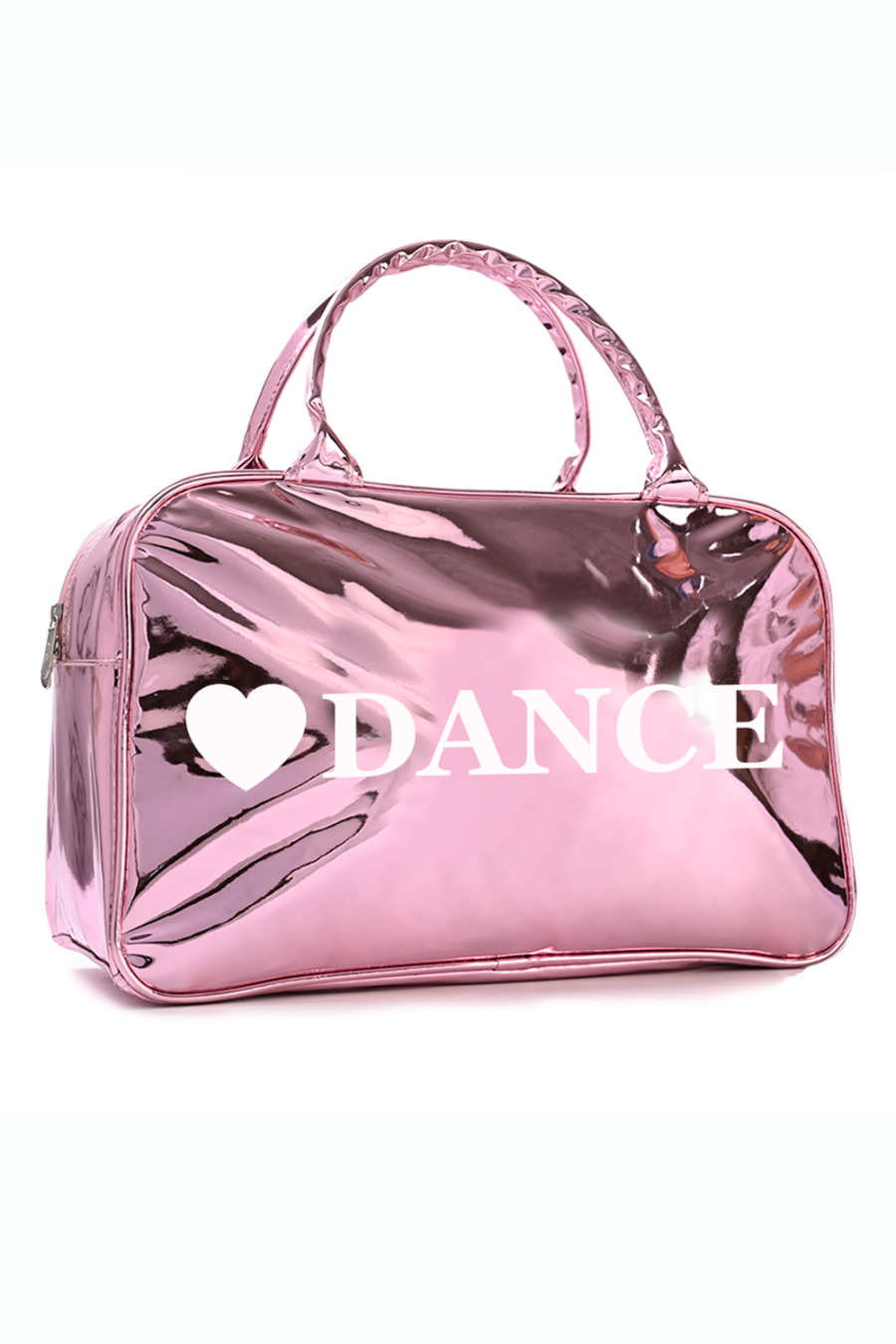 NEW RVDANCE retro style 2 handle bag Metallic pink finish