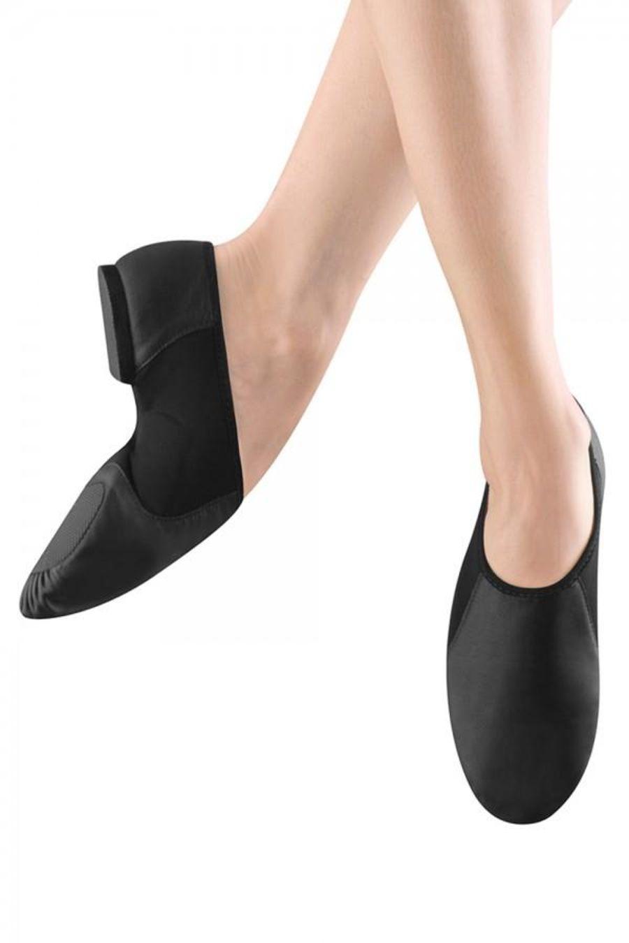 Bloch SO495 Neoflex Split Sole Slip on Jazz Dance shoes Black