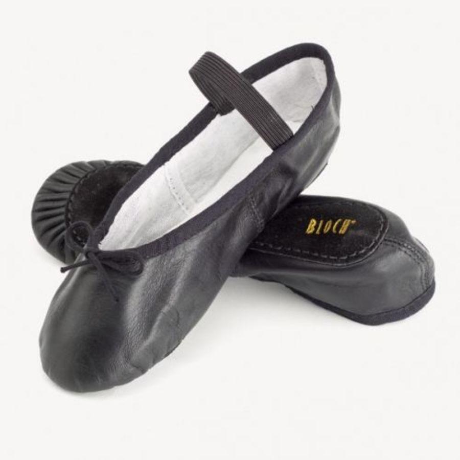 Bloch SO209 Arise Leather Full sole Ballet Shoe Black