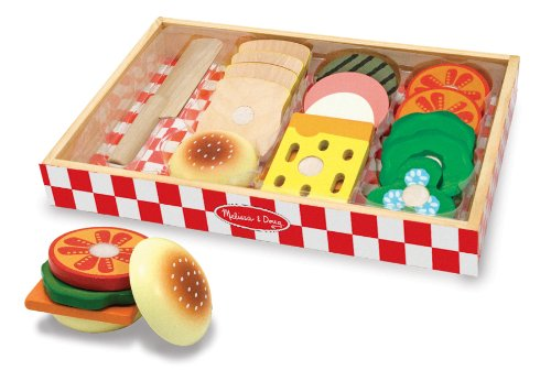 Wooden Cut and Play Sandwich Set