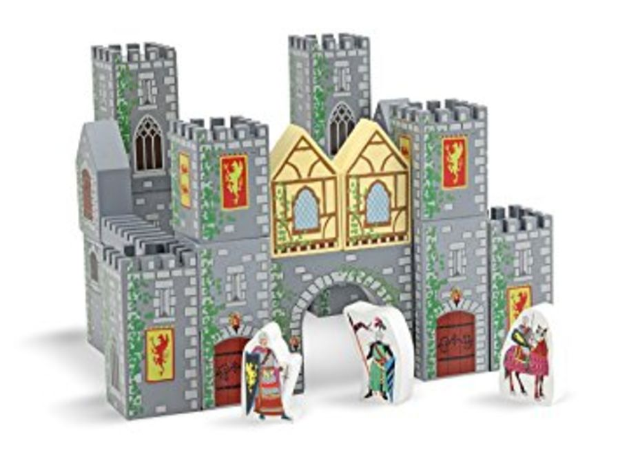 Wooden Castle Building Blocks