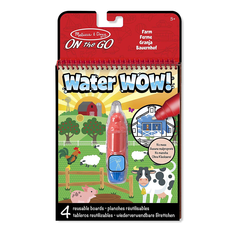 Farm Water Wow Magic Colouring Book