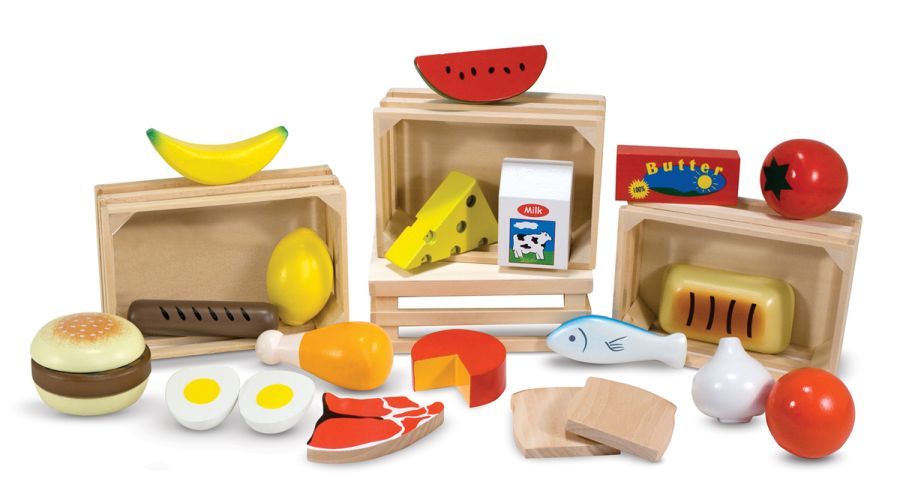 Wooden Food Groups
