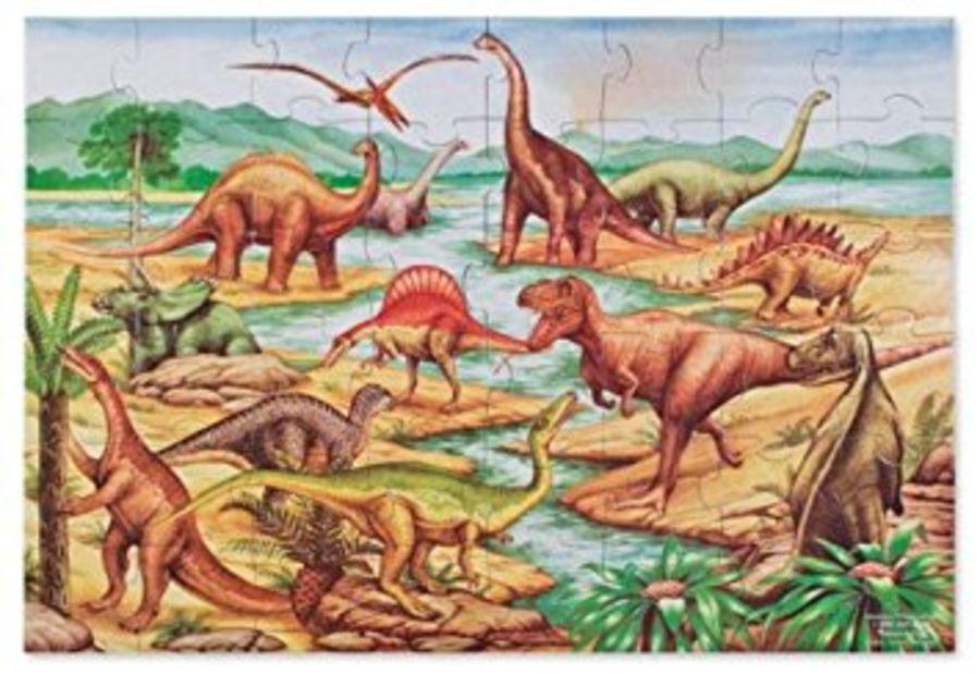 Dinosaurs Giant Floor Puzzle 48pc Jigsaw