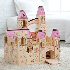 Melissa And Doug Giant Wooden Princess Folding Castle