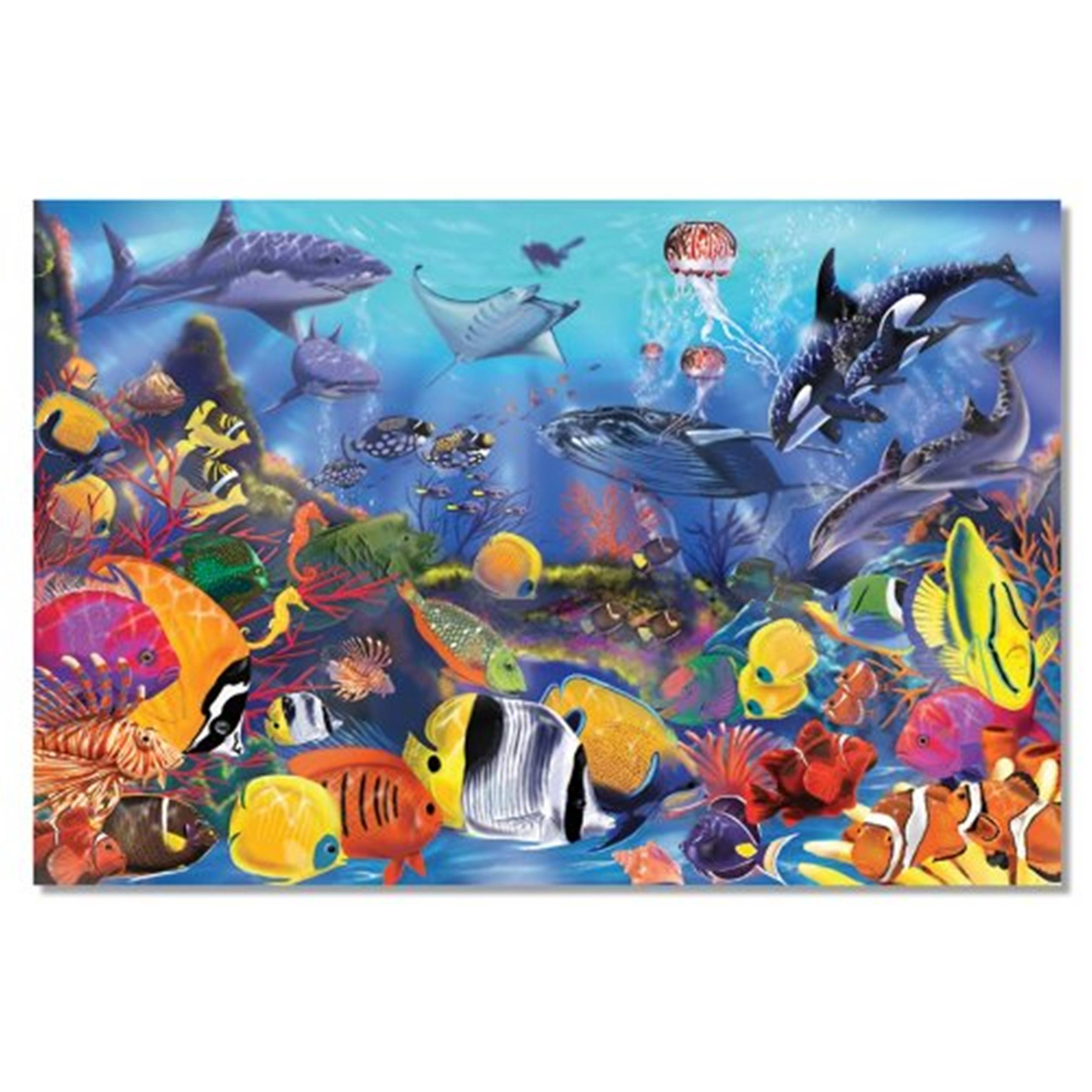 Underwater Floor Puzzle 48pc Jigsaw