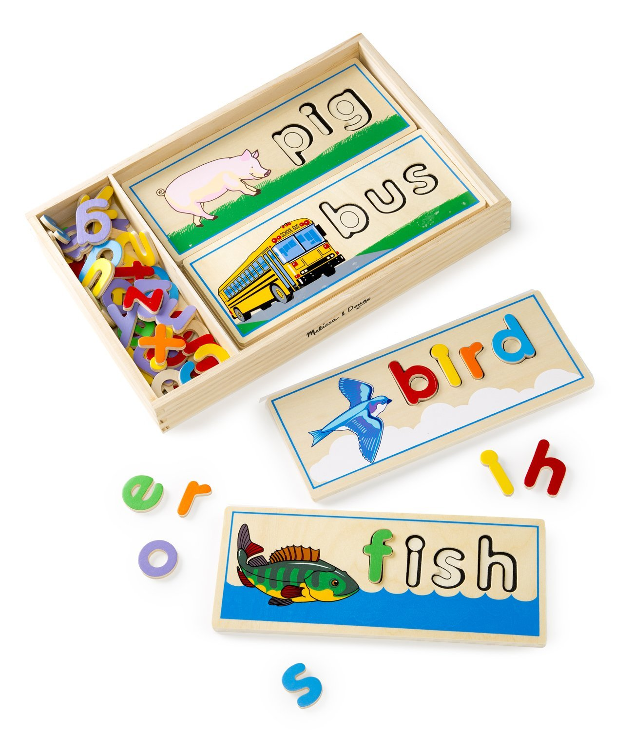 See and Spell Wooden Toy