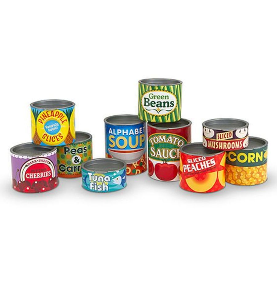 Grocery Cans Canned Food Set