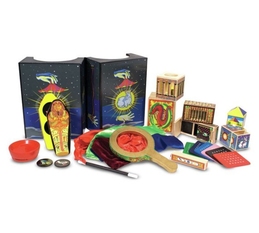 Deluxe Wooden Magic Set (10 Tricks)