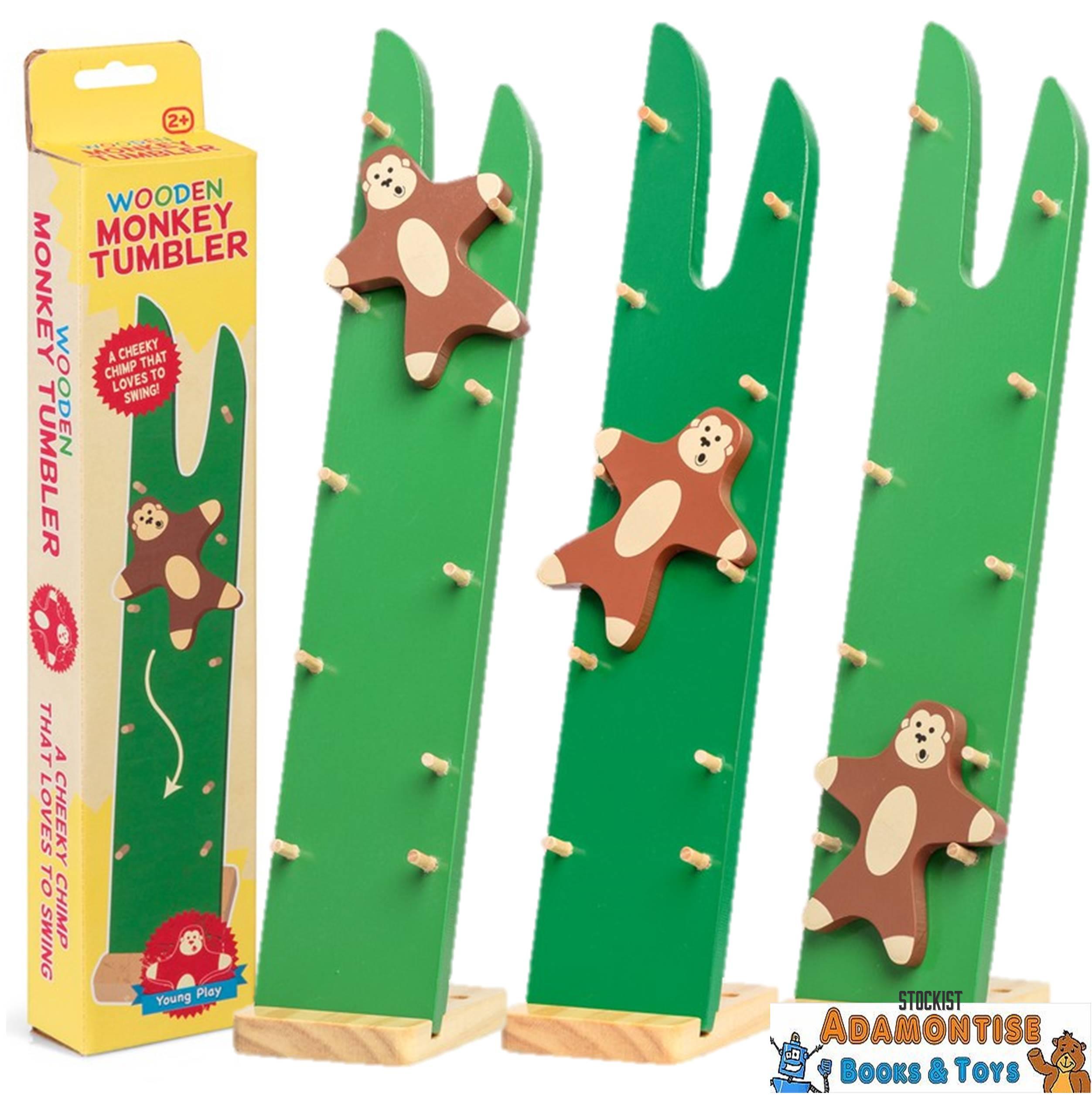 Wooden Monkey Tumbler